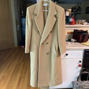 JONES NEW YORK 100% Wool Full length Womens Coat